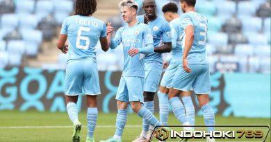Pesta Gol Manchester City dalam Uji Coba Pramusim