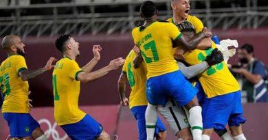 Timnas Brasil Medali Emas Olimpiade Tokyo Usai Kalahkan Spanyol